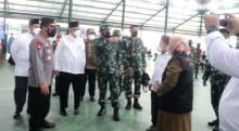 Panglima TNI dan Kapolri Kunjungi 2 Sentra Vaksinasi di Wilayah Jakarta
