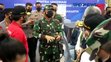 Panglima TNI Puji Mahasiswa Menjadi Pelopor Pelaksanaan Vaksinasi Nasional