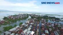 Senin Siang, Ribuan Rumah Masih Terendam Banjir di Kabupaten Wajo