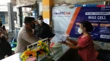 Polsek Koja Bantu Warga yang Isolasi Mandiri di Kelurahan Tugu Utara