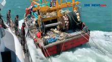 Petugas PSDKP Kota Batam Tangkap Kapal Ikan Asing
