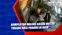 Komplotan Maling Gasak Motor Tukang Nasi Padang di Koja