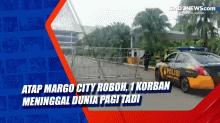 Atap Margo City Roboh, 1 Korban Meninggal Dunia Pagi Tad