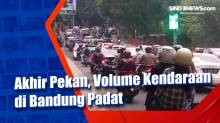 Akhir Pekan, Volume Kendaraan di Bandung Padat