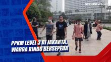 PPKM Level 3 di Jakarta, Warga Rindu Bersepeda