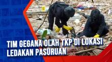 Tim Gegana Olah TKP di Lokasi Ledakan Pasuruan