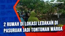 2 Rumah di Lokasi Ledakan di Pasuruan jadi Tontonan Warga