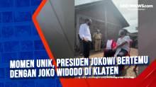 Momen Unik, Presiden Jokowi Bertemu dengan Joko Widodo di Klaten