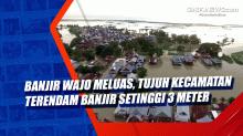 Banjir Wajo Meluas, Tujuh Kecamatan Terendam Banjir Setinggi 3 Meter