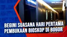 Begini Suasana Hari Pertama Pembukaan Bioskop di Bogor