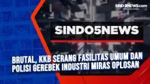Brutal, KKB Serang Fasilitas Umum dan Polisi Gerebek Industri Miras Oplosan