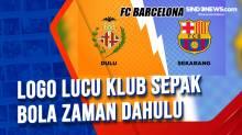 Logo Lucu Klub Sepak Bola Zaman Dahulu