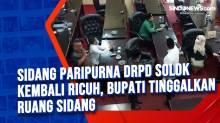 Sidang Paripurna DRPD Solok Kembali Ricuh, Bupati Tinggalkan Ruang Sidang