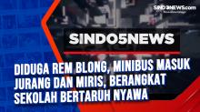 Diduga Rem Blong, Minibus Masuk Jurang dan Miris, Berangkat Sekolah Bertaruh Nyawa