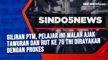 Giliran PTM, Pelajar Ini Malah Ajak Tawuran dan HUT ke 76 TNI Dirayakan Dengan Prokes