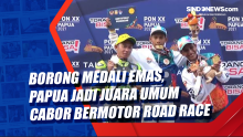 Borong Medali Emas, Papua Jadi Juara Umum Cabor Bermotor Road Race
