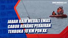 Jabar Raih Medali Emas Cabor Renang Perairan Terbuka 10 KM PON XX