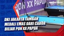 DKI Jakarta Tambah Perolehan Medali Emas dari Cabor Biliar PON XX Papua