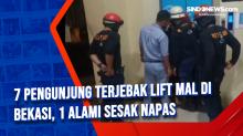 7 Pengunjung Terjebak Lift Mal di Bekasi, 1 Alami Sesak Napas