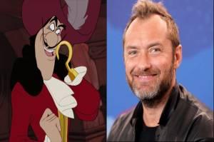 Disney Lirik Jude Law untuk Peran Kapten Hook di Peter Pan & Wendy