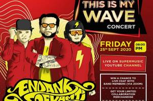 Endank Soekamti Bakal Bikin Punk Rock Versi Akustik di This Is My Wave Concert