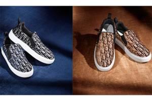Dior Rilis Sepatu Slip On Solar dengan 150.000 Jahitan