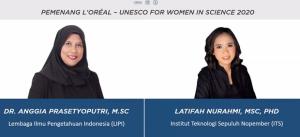 Inovasi Sains Diperkenalkan Dua Perempuan Muda