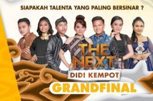Grand Final The Next Didi Kempot Gtv Siap Lahirkan Ikon Baru Musik Pop Jawa
