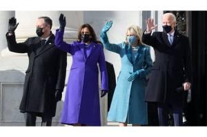Bukan Sekadar Pakaian, Begini Makna Baju Joe Biden-Kamala Harris di Hari Pelantikan