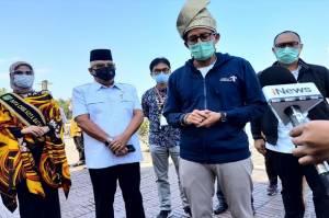 Menparekraf Sandiaga Uno Pastikan Protokol Kesehatan Pariwisata di Batam