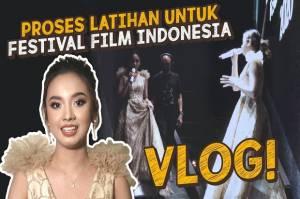 Intip Keseruan Lyodra Latihan untuk Festival Film Indonesia Yuk!