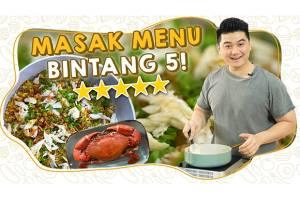 Chef Arnold Kasih Tip Buat Masakan Restoran Bintang Lima, Penasaran?