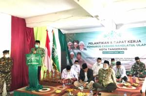 Depan Pengurus NU Tangerang, Sekjen Gerindra: Perjuangan Kiai dan Ulama Tidak Mudah