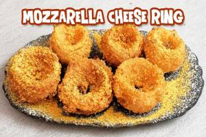 Mozzarella Cheese Ring Cocok untuk Camilan atau Ide Jualan