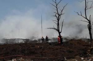 Sudah Berlangsung 3 Hari, Begini Kondisi Kebakaran Lapak Ban Bekas di Bogor
