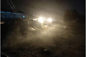 Hujan Guyur Kawasan Bogor, Bendung Katulampa Siaga 3