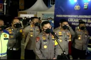 Operasi Ketupat Jaya 2021, Polda Metro Jaya Sudah Putar Balikkan 6.500 Kendaraan