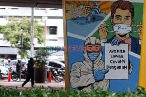 Kasus Positif Covid-19 Bertambah 4.295, Jumlah Kasus Aktif Menurun