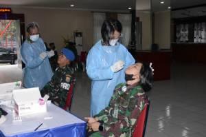 Pasca-Lebaran, Lantamal III Jakarta Lakukan Swab Test bagi Seluruh Personel