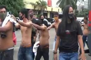 Palak Sopir, 10 Preman Tanah Abang Diringkus Polisi