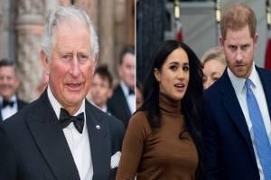 Pangeran Charles Pastikan Anak Harry-Meghan Tidak Jadi Pangeran