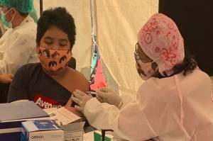 Suntik Vaksin di Sentra Vaksinasi Covid-19 MNC Studios, Anak 13 Tahun: Nggak Sakit