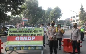 Ganjil Genap di Kota Bogor, Sehari Rata-rata 8.000-10.000 Kendaraan Diputar Balik