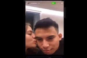 Video Diduga Adhisty Zara dan Niko Al Hakim Ciuman Viral