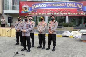 Alumni Akpol 91 Gandeng Jakarta Garden City Bagikan Sembako