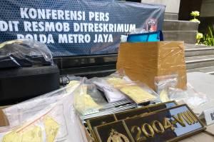 Polisi Ungkap Peran 3 Tersangka Pemalsuan STNK-Pelat Nomor Rahasia untuk Polri dan DPR