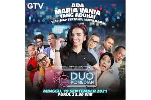 Jadi Guru Aerobik, Maria Vania Diundang Sultan Sule di Duo Komedian GTV