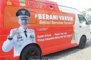 Kabupaten Bekasi Ubah Skema Vaksinasi Secara Door to Door