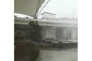 Hujan Disertai Angin Kencang Kembali Landa Depok