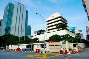 Mulai Hari Ini KBRI Kuala Lumpur Tutup Sementara